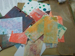 GELLI PLATE PRINTING 101 with Michelle @ Everything Scrapbook and Stamps | Lake Worth | Florida | United States