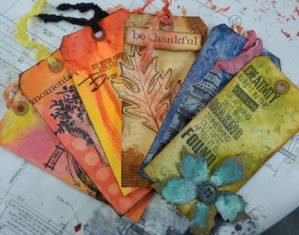 Altered Tag $3 @ Everything Scrapbook and Stamps | Lake Worth | Florida | United States