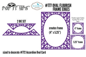 Oval Flourish Frame Edges #777