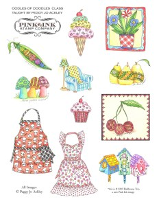Oodles of Doodles with Pink Ink @ Everything Scrapbook and Stamps | Lake Worth | Florida | United States