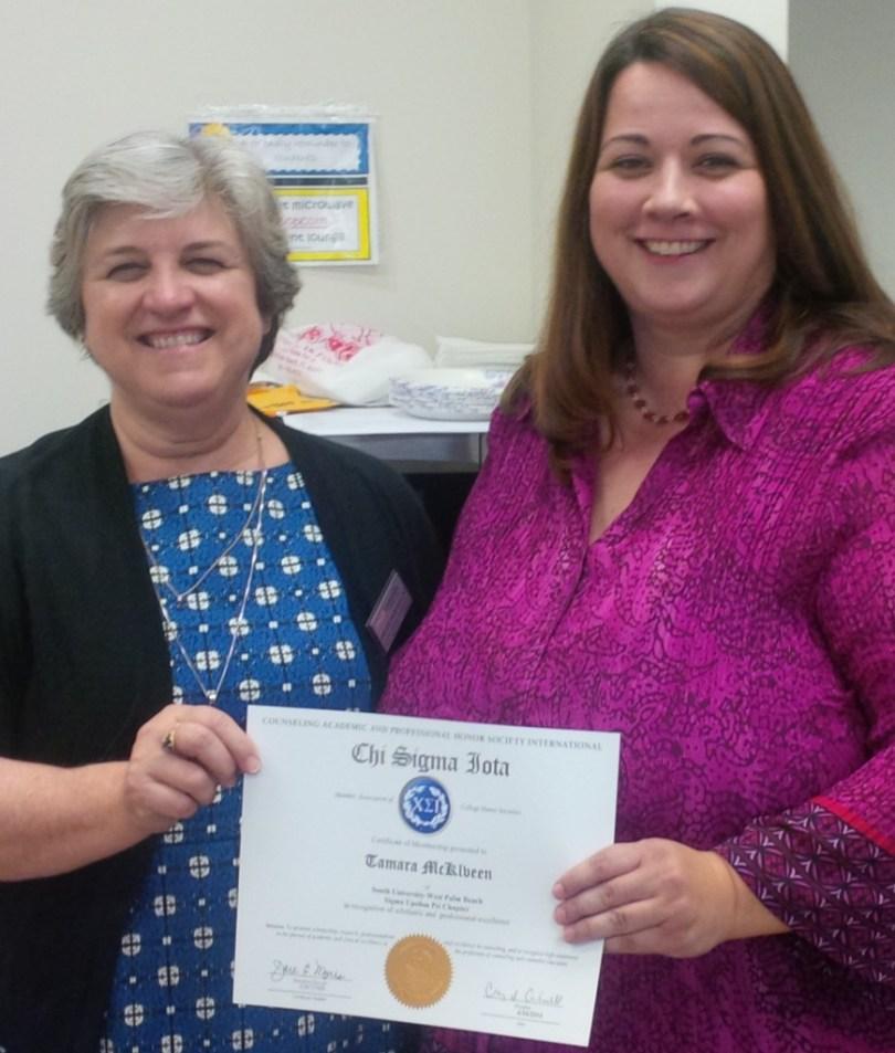 Tamara Finally Wins an Award!