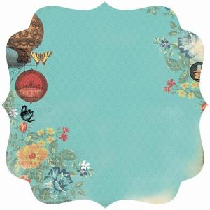 Through the Looking Glass - Wonderland Die Cut