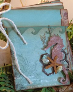 Sand Pail Mini Album with Nancy @ Everything Scrapbook and Stamps | Lake Worth | Florida | United States
