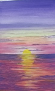Sunset Canvas - Adult Class