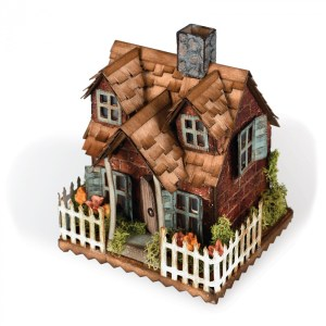 Tim Holtz Village - Fall House @ Everything Scrapbook & Stamps | Lake Worth | Florida | United States