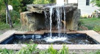 Landscape Waterfall Gallery | Backyard & Pool Rock Waterfalls