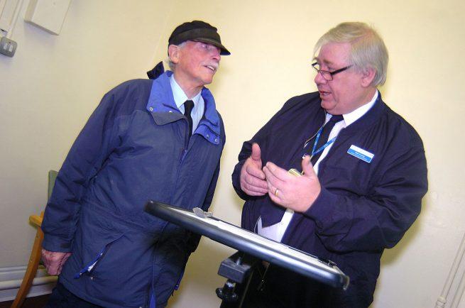 Tireless hospital porter Alex, 90, opens new door to lovely surprise