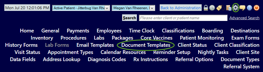 Creating a Document Template \u2013 eVetPractice - create document template