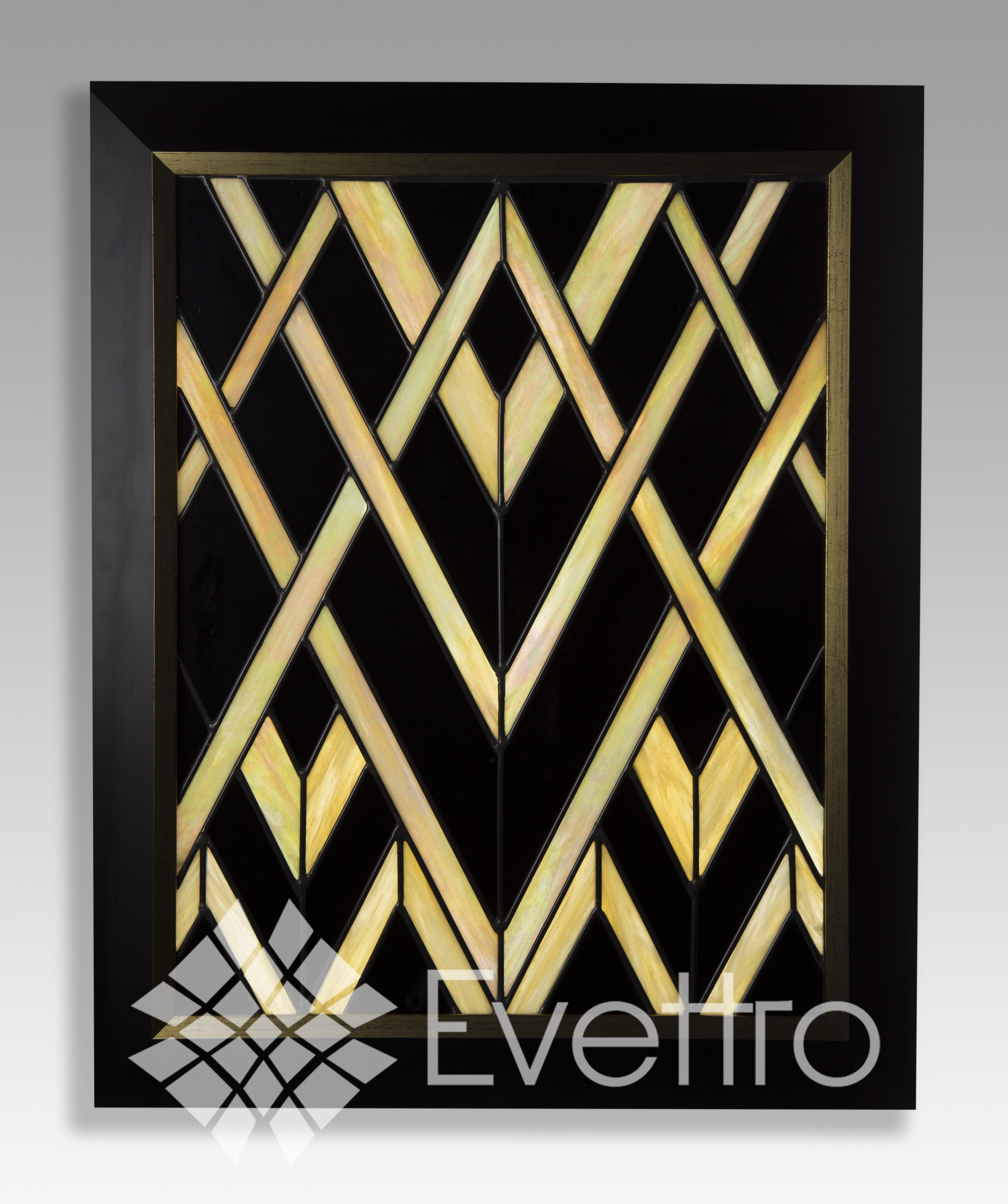 Deco Panel Bilder Evettro Art In Glass Art Deco Stained Glass Evettro