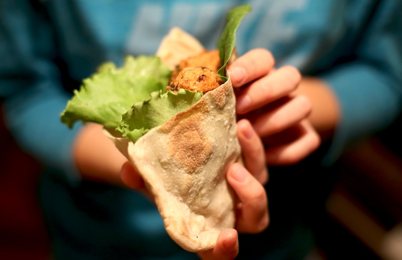 арабская пита на закваске