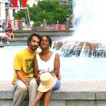 Evia & Darren at LOVE Park