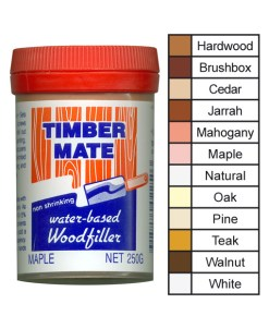 PSTMBRUSH Timbermate 250g Non Acrylic Timber Filler