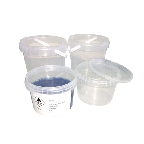 Bx100 Clear Paint Storage cups with Shake Proof Lids Radex MCR620565
