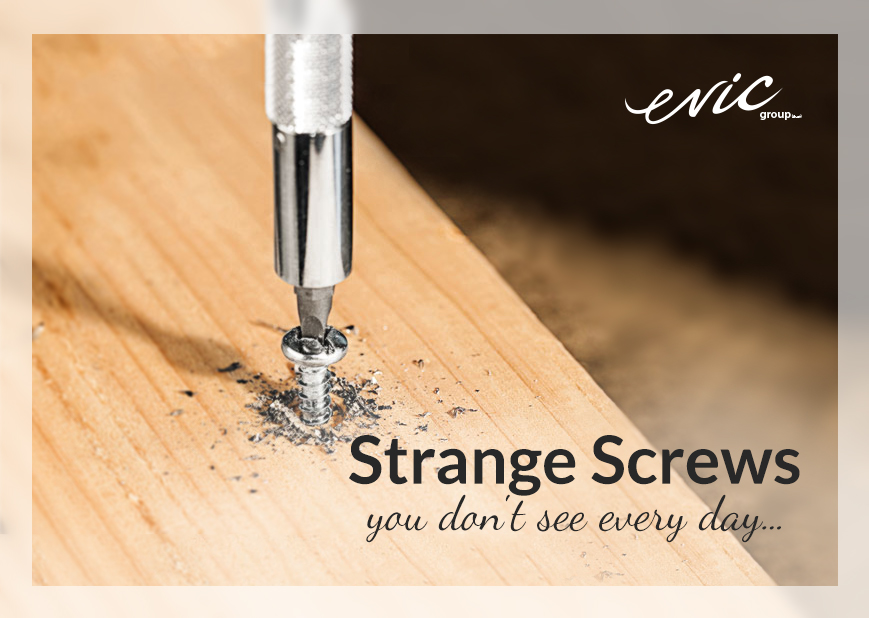 Strange Screws you don't see everyday