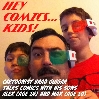Hey Comics Kids