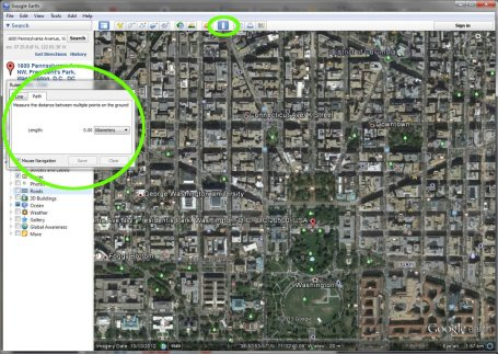 google earth run 5k tool