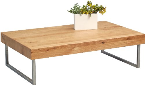 Couchtisch Inga 1 Hometrends4you 353922 Tv Bank Holz Wildeiche, 160x40x40 Cm