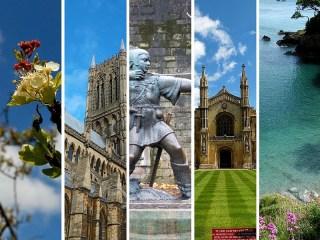 Mes 5 villes préférées en Angleterre