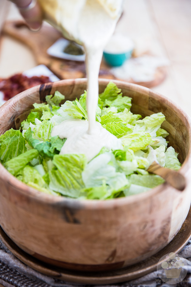 The Ultimate Caesar Salad - Entirely From Scratch • My Evil Twin's ...