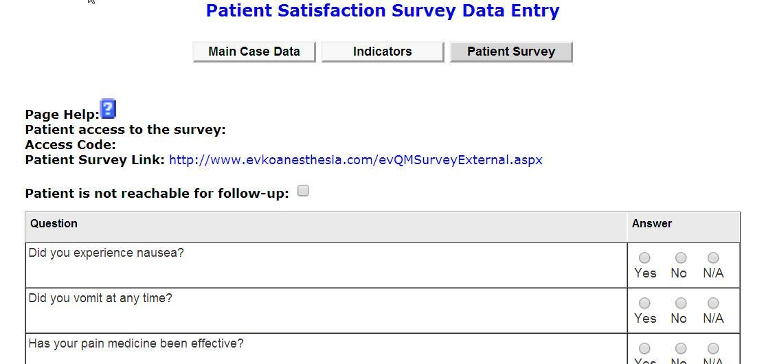 EVKO - Satisfaction Survey - patient satisfaction survey template