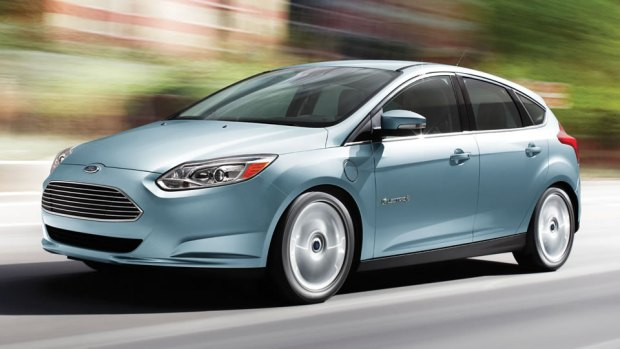 Ford Focus Electric via Ford