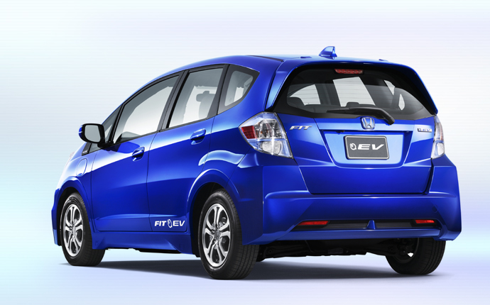 Honda Fit EV. Credit: Honda