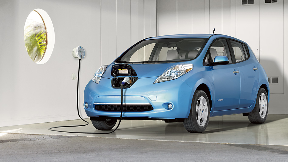 What does the Nissan Leaf represent for the future of the car and EV industry?