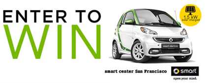 smart car solar sweepstakes