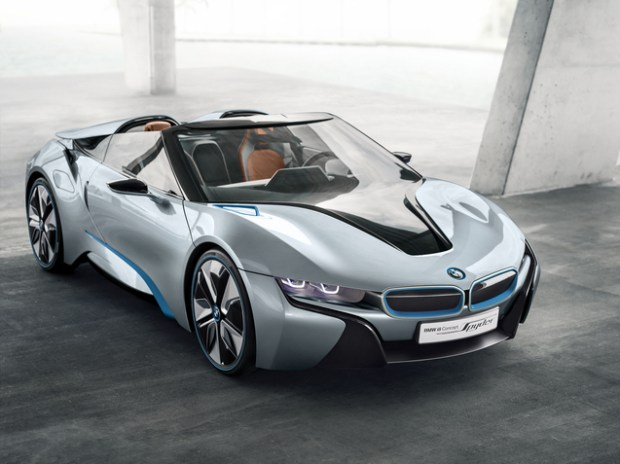 bmw i8 roadster sharp