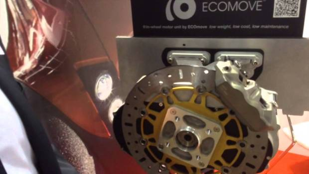 ECOmove — In-Wheel Electric Motor Company From Denmark