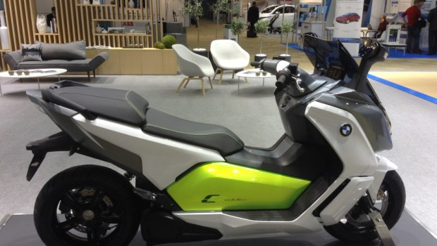 BMW electric scooter 1