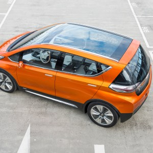 2015 Chevrolet Bolt EV Concept all electric vehicle – glass ro