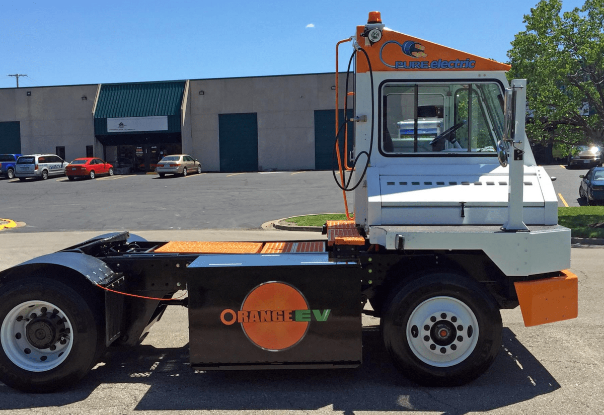 Orange EV Now Accepting Orders For New Class 8 T-Series Electric Terminal Truck
