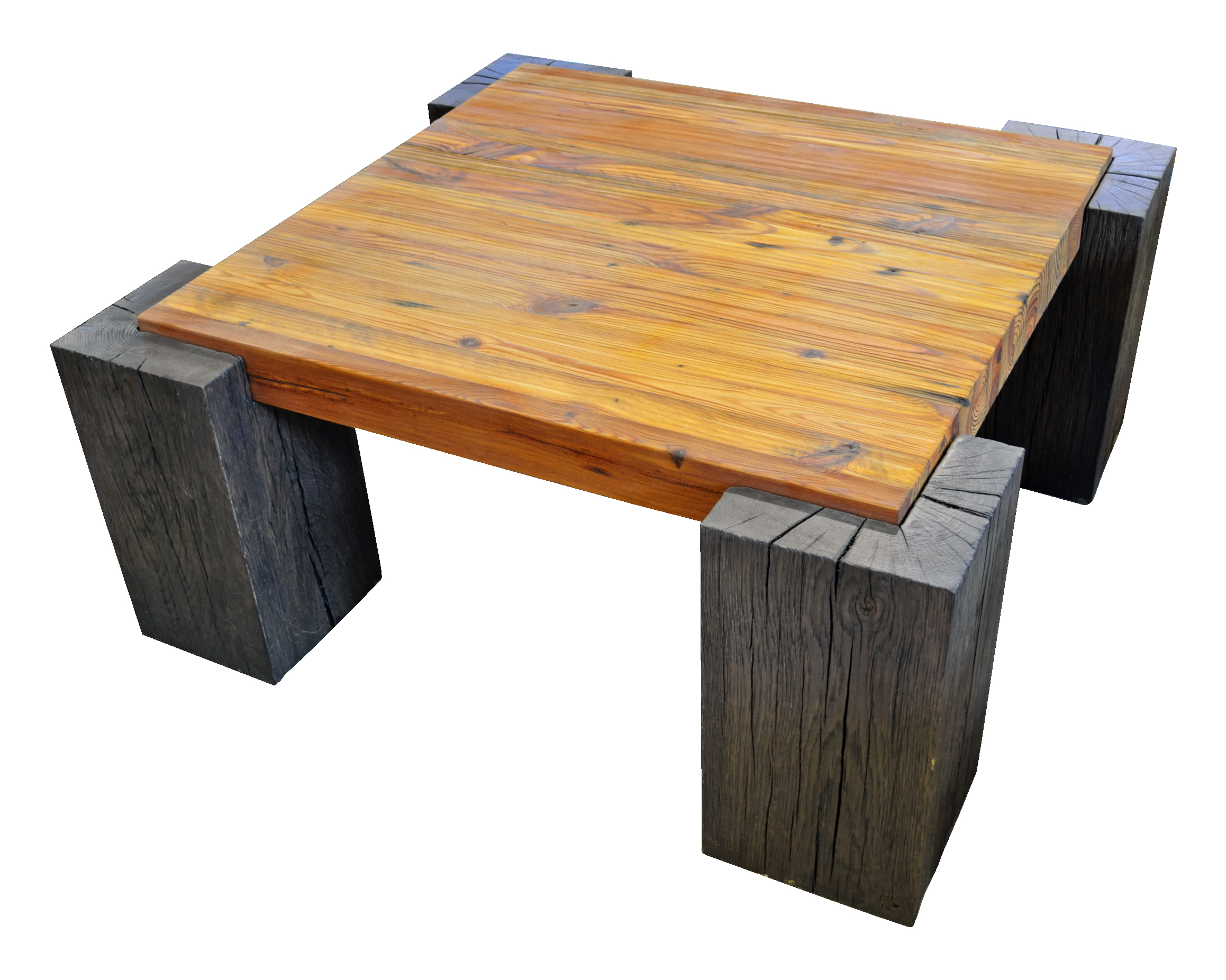 Couchtisch Holzbalken Primitive Collection Timber Coffee Table By Evolutia