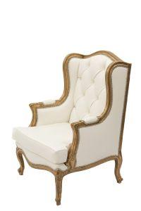 White Gold Chair