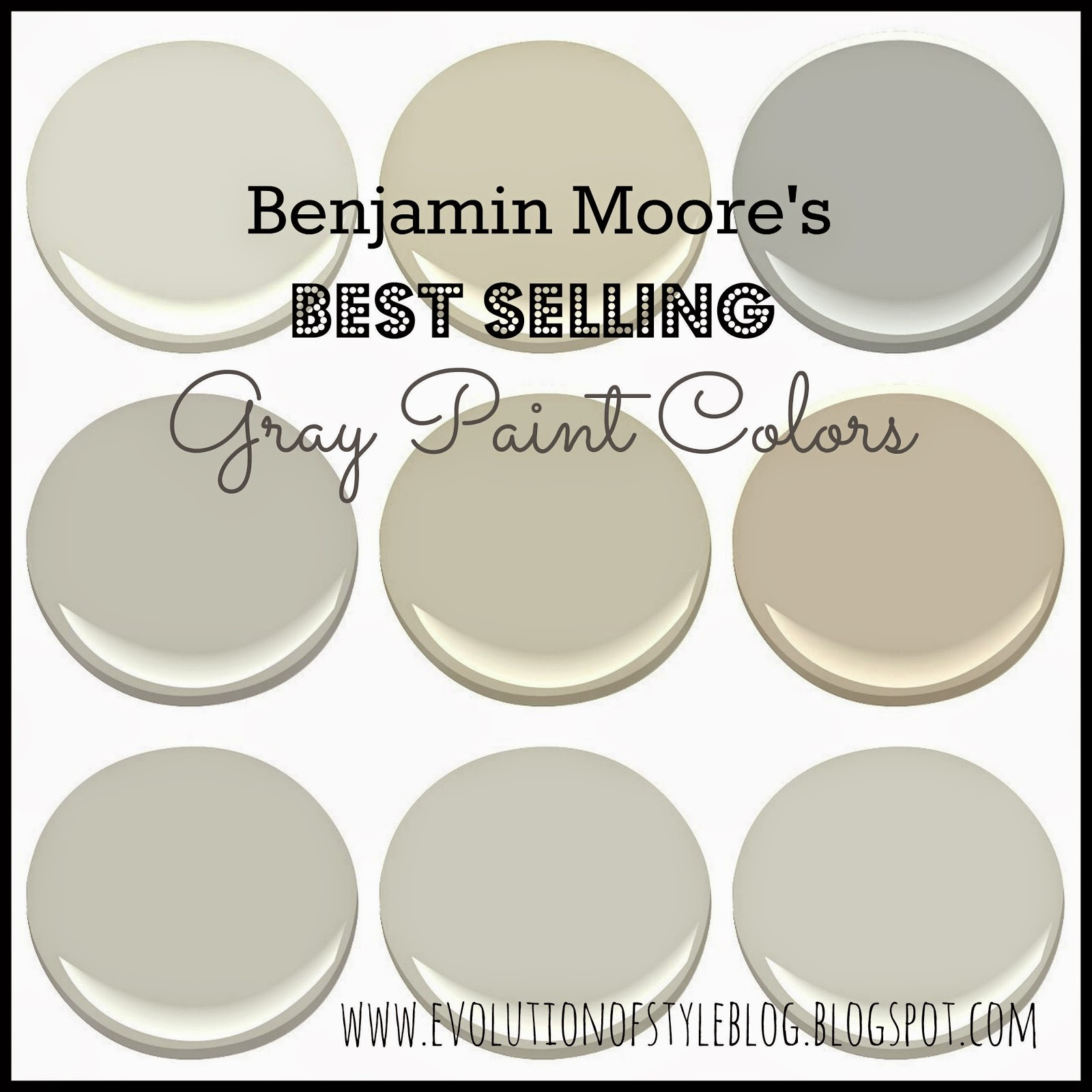 Most Popular Blue Gray Paint Colors Benjamin Moore 39s Best Selling Grays Evolution Of Style
