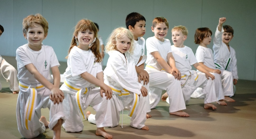 EvolveAll Youth Martial Arts Students