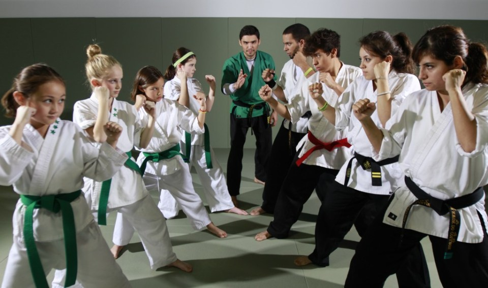 Students vs Instructors - Evolve All Martial Arts training Center