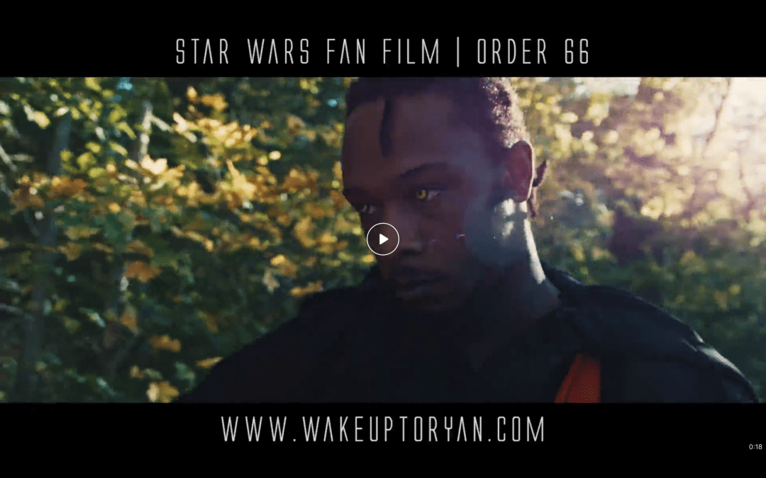 "Instructor Will in ""STAR WARS"" Short Film"