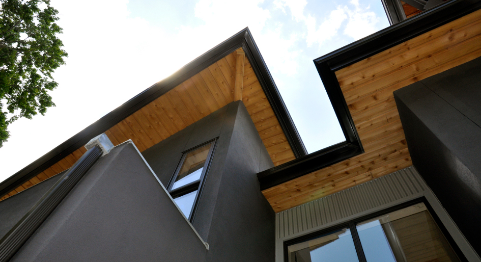 Roof Builders An Ecological Home Addition In Southwestern Ontario