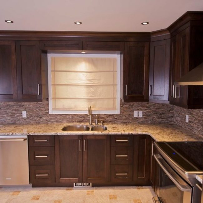 Flat Panel Cabinets Shaker Style Kitchen Cabinet Doors & Drawers - Evolve Kitchens