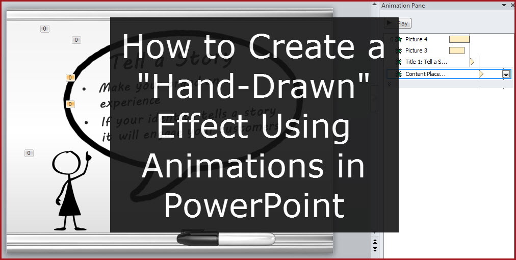 How to Create a WhiteBoard Effect PowerPoint Tips