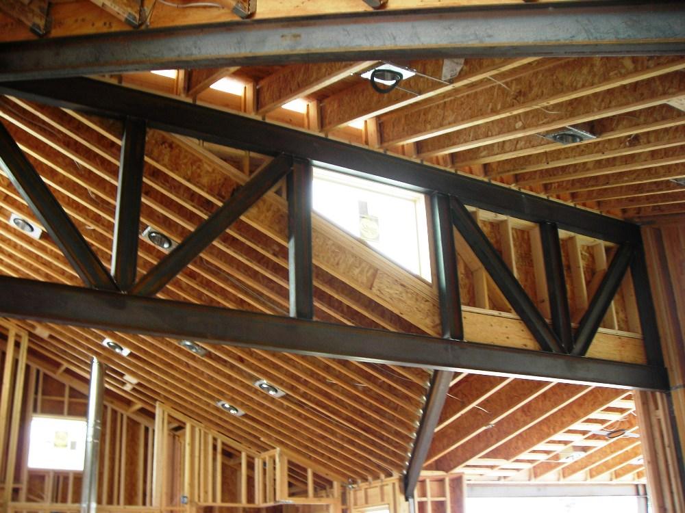 Steel Truss Design for Custom Home \u2014 EVstudio, Architect Engineer