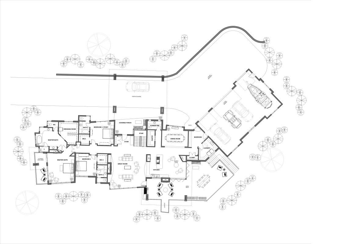 Appalachia Mountain House Floor Plan Part 36