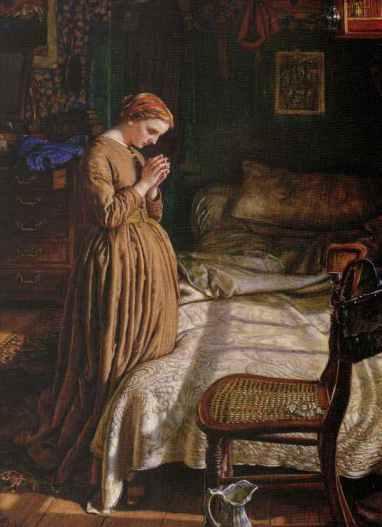 William Holman Hunt - Modlitwa poranna