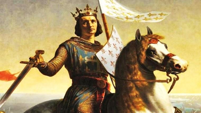 Św. Ludwik IX, król Francji, krzyżowiec