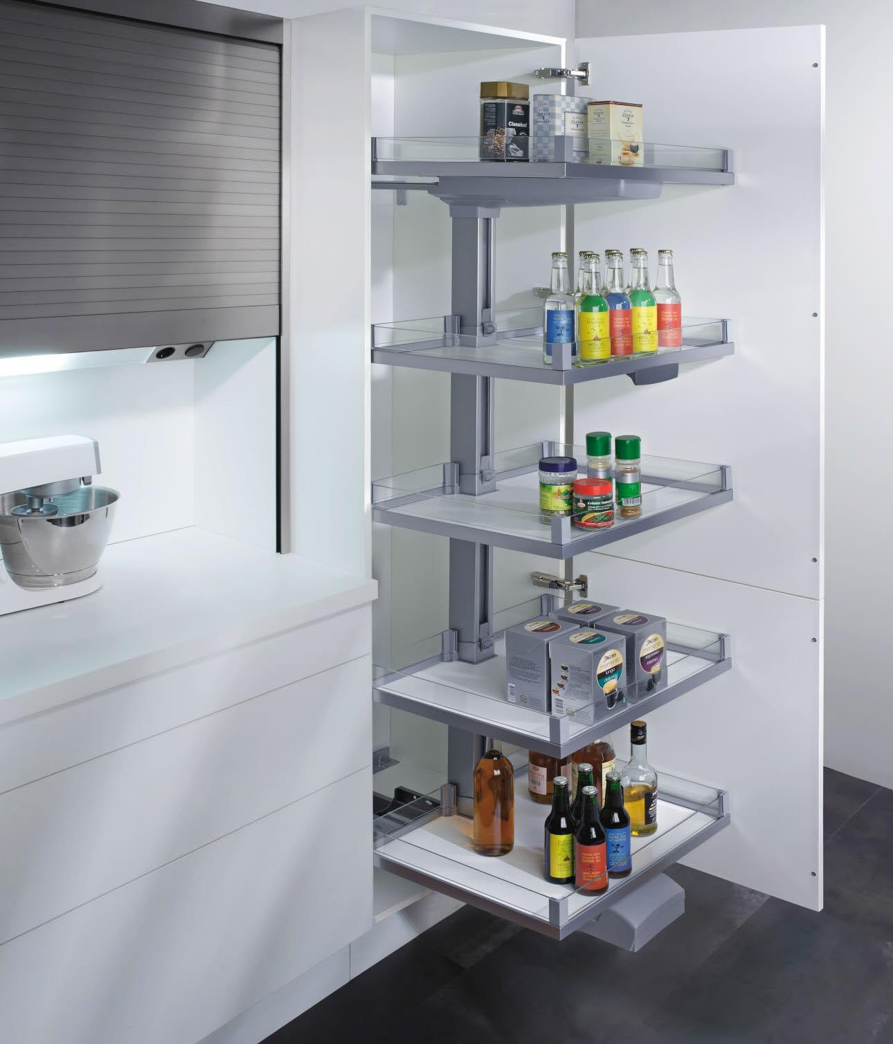 Küche Hochschrank Ecke | Küche Ecklösung Hochschrank Ecklösung ...