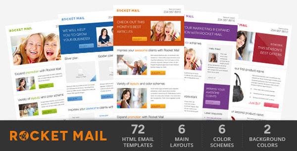 New Responsive HTML Newsletter Email Templates \u2013 eWebDesign