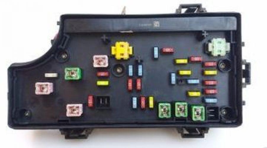 94 geo metro fuse box