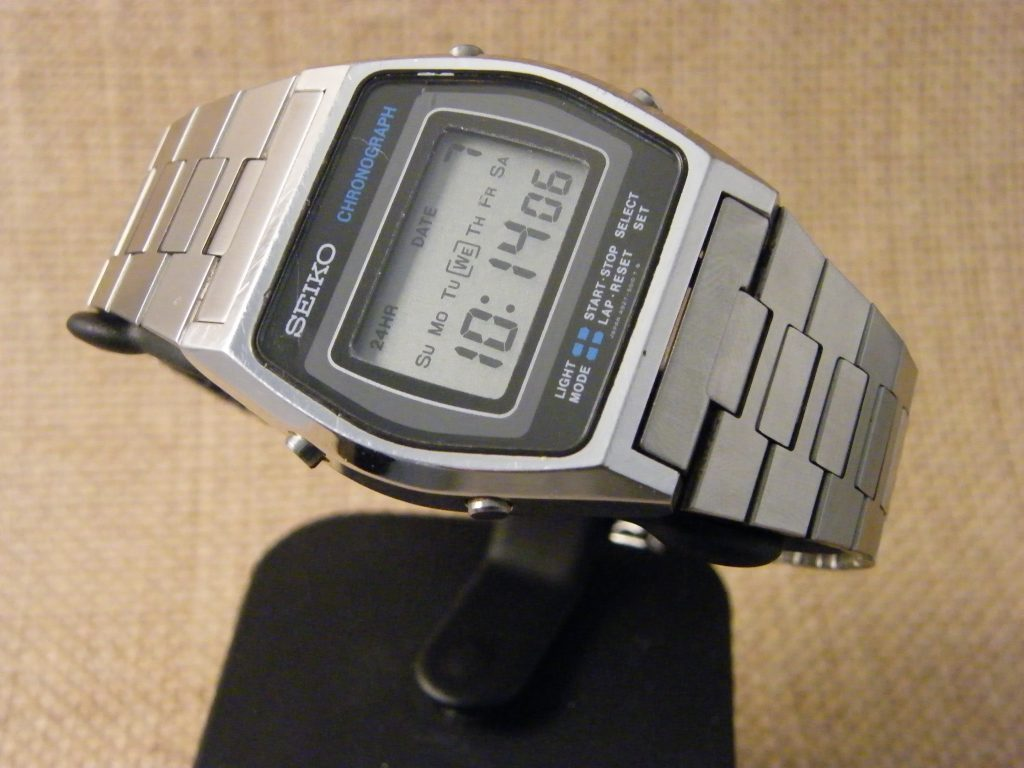 Digital Clock For Sale Pre Owned Seiko Digital Chrono For Sale Exactime Watch